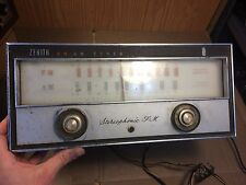 Vintage Zenith FM Stereo Tuner from 1960 Tube Console