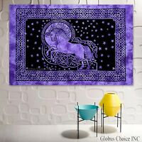 Beautiful Hunt of Unicorn Medieval Fine Tapestry Jacquard Woven Wall Hanging X