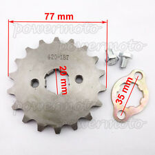 420 18 Tooth 20mm ID Front Engine Sprocket For Stomp Thumpstar SDG Pit Dirt Bike