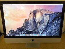 "Apple iMac 27"" Intel Core i5 3.60GHz 8GB RAM 256GB SSD (Mid 2010) MC510LL/A"