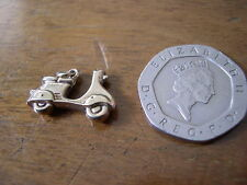 Very Rare Chester Fully Hallmarked  9ct  Gold Scooter Charm 1961.