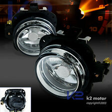 2002-2005 Mitsubishi Eclipse Clear Driving Bumper Fog Lights+Switch