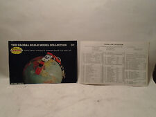 1968-69 SCHUCO GLOBAL SCALE MODEL COLLECTION DIE-CAST CATALOG & PRICE LIST