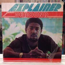 NM LP~EXPLAINER~Rebound~[Original 1986 B'S RECORDS Issue]~Soca/Reggae