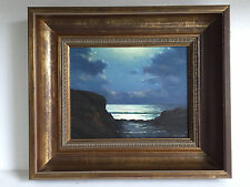 FRANCIS STILLWELL DIXON - American 1879-1967 - Framed Oil on Board Painting #1