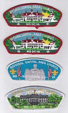 USA BOY SCOUTS OF AMERICA - NATIONAL CAPITAL AREA COUNCIL SHOULDER PATCH CSP 2