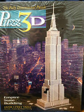 PUZZ3D EMPIRE STATE BUILDING-902 PIECES-THE FULLY DIMENSIONAL PUZZLE-1994