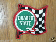SEWING PATCHES QUAKER STATE BADGE OPNAAI EMBLEEM