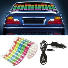 90x25cm Car Music Rhythm Decora LED Flash Light Decora Sticker Sound Equalizer