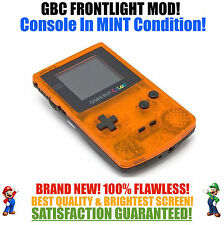 Nintendo Game Boy Color GBC Frontlight Front Light Frontlit Mod Daiei Hawks MINT