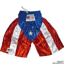 Boxing Trunks, Boxing Shorts Puerto Rico Martial Arts Training Fitness Shorts L