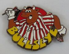 ***NEW*** Bullseye enamel badge. Bully, Darts, PDC, BDO, Retro TV, Phil Taylor