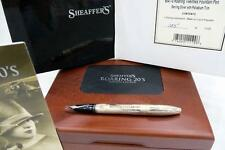 SHEAFFER ROARING TWENTIES FOUNTAIN PEN LTD.ED.125, STERLING SILVER, MINT & BOXED