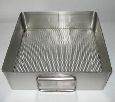 "New Made-in-the-USA Stainless Steel 10-1/2"" x 11"" x 3-1/2"" Tray, Cheese Mold"