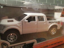 JADA WHITE 2011 FORD F-150 4X4 CREW CAB RAPTOR SVT TK SCALE 1:32 NEW IN THE BOX