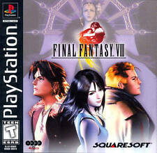 Final Fantasy 8 VIII Black Label - PS1 PS2 Game Complete