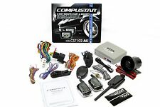 Compustar CS7102-AS 2-Way LCD Remote Car Starter & Alarm System Combo
