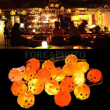 New 16 Pumpkins LED String Light Pumpkin Lights for Halloween Decoration Party