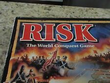 RISK World Conquest Game 1993 Spare Pieces Replacement Parts Mission Cards