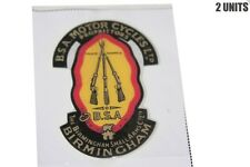 2 BSA MOTORCYCLES LTD TRADE MARKS BIRMINGHAM SMALL ARMS STICKER UNIT @ ECspares