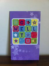 Get Well Soon Greeting Card/Gift - Gett Better/Well