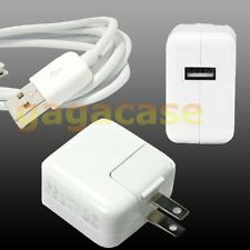 10W Power Adapter Home Charger w/ Free USB Cable For iPad 4,iPad Air,iPad mini