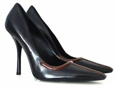 PRADA PUMPS HIGH HEELS SCHWARZ BLACK GR:40 NEU !!!