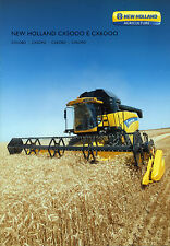 PUBBLICITA' WERBUNG * NEW HOLLAND CX 5000 E CX 6000 *