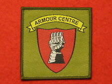 British Army Armour Centre Bovington TRF Badge - BRAND NEW sew on.