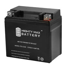 Mighty Max  YTX5L-BS Replacement for Polaris Outlaw Scrmblr ATV Battery