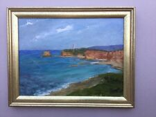 Allen 74  Sea Scape  Framed Painting