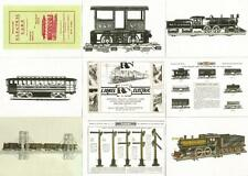 Lionel Greatest Trains Full 72 Card Base Set of Trading Cards from DuoCards