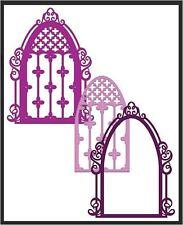 Heartfelt Creations Die Set ~ BOTANIC WINDOW ~ Botanic Orchid  ~HCD1-7100