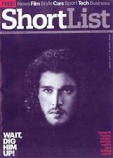 (UK) SHORTLIST MAGAZINE April 2016 Games of Thrones KIT HARINGTON PHOTO COVER