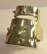 "2015 Stunning ""Ned Kelly""  Men's Dress Ring (Size 10) Finished in 999 24k Gold"
