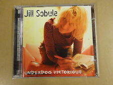 CD / JILL SOBULE ‎– UNDERDOG VICTORIOUS