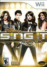 Nintendo Wii Disney Sing It: Party Hits VideoGames