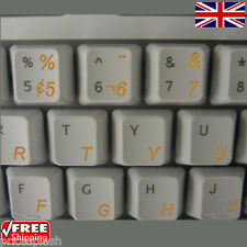 Portuguese Brazilian Transparent Keyboard Stickers for Laptop Notebook -6 Colour