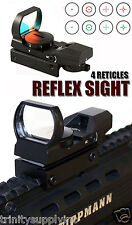 TRINITY Red Green Dot Scope Sight With Mount Fits Tactical Paintball Guns