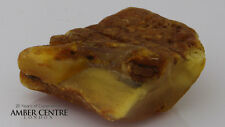 NATURAL BUTTERSCOTCH RAW UNPOLISHED BALTIC AMBER PIECE 16.7 GRAMS-RS041 RRP£165