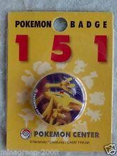 OOAK JAPAN Pokemon Center Limited 1999 POKEMON 151 #064 KADABRA Tin Can Badge
