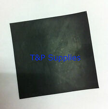 Solid Neoprene rubber sheet 100mm x 100mm x 1mm thick