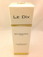LE DIX BALENCIAGA 6.7oz - 200ml GENTLE FOAMING GEL (Shower Gel) NEW SEALED (B11