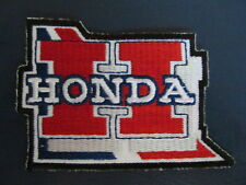 Vintage Honda Motorcycle Biker Vest Jacket Hat Patch Crest Dirt Bike AA
