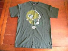 Nice Green Bay Packers Helmet logo T Shirt by Team Apparel