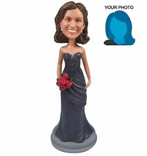 Personalized Bridesmaid Bobblehead Doll For Wedding Ocassion Maid Of Honor Gift