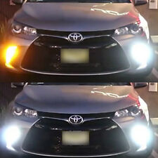 Bright Switchback Front DRL Parking Signal LED + Resistors for 2015 2016 Camry