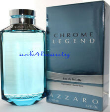 Chrome Legend By Azzaro 4.2oz./125ml Edt Spray For Men New In Box
