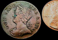 """R424: 1796 Conder Token : """"Flowing Trade"""" National Farthing : D&H Middx.1127"""