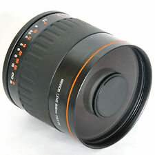 500mm f/6.3 Mirror Lens +T mount T2 adater for Nikon D3X D700 D300 D90 D80 D70s